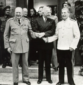 Churchill, Truman, Stalin
