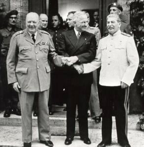 Churchill, Truman, Stalin