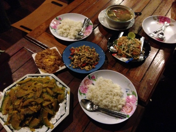 Thanksgiving Dinner, Thai Style