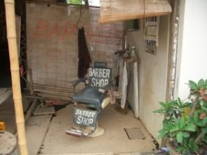 Lao barber shop
